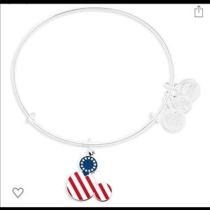 Disney Alex And Ani Mickey Icon Flag Bracelet